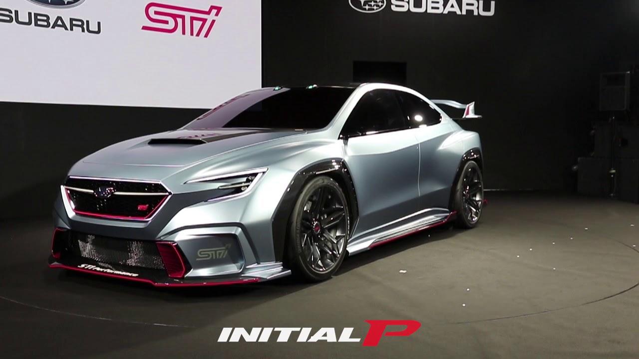 斯巴鲁在2018年东京汽车沙龙推出Viziv Performance STI概念车