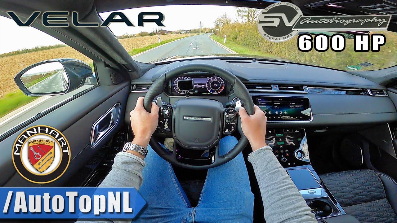 第一视角体验600马力的路虎揽胜星脉SV,4.3秒破百的高性能豪华SUV