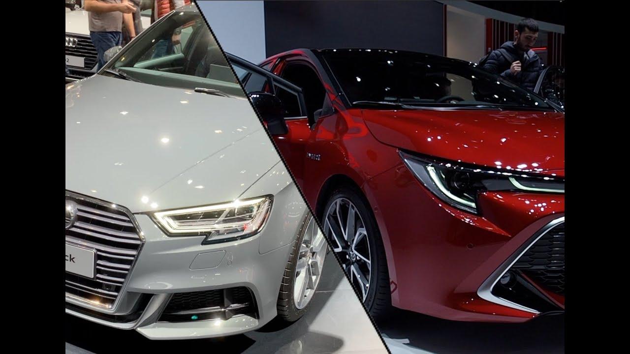 家用性价比超高轿车!车展实拍:奥迪新 A3 2020 vs.丰田卡罗拉 2020