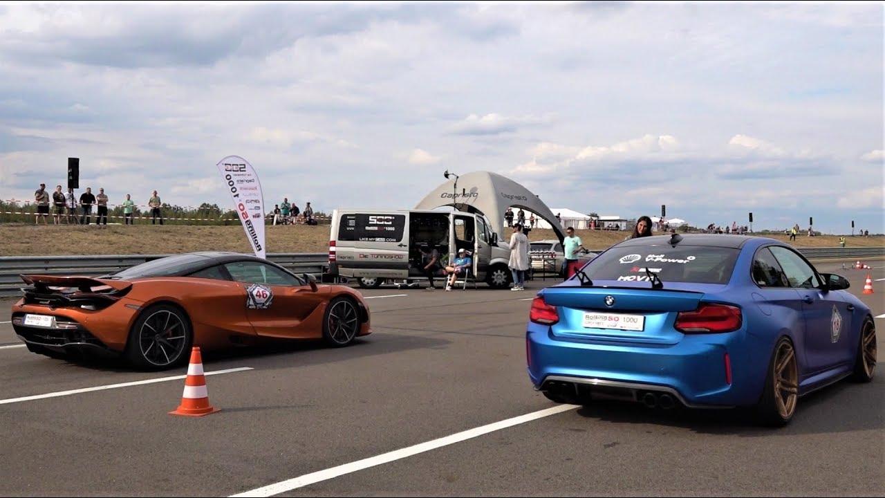 迈凯伦720S vs 宝马 M2 vs 保时捷 911 vs 奔驰