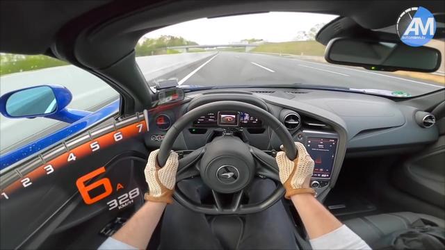 第一视角驾驶2020款迈凯伦720s,高速飙出342km/h!