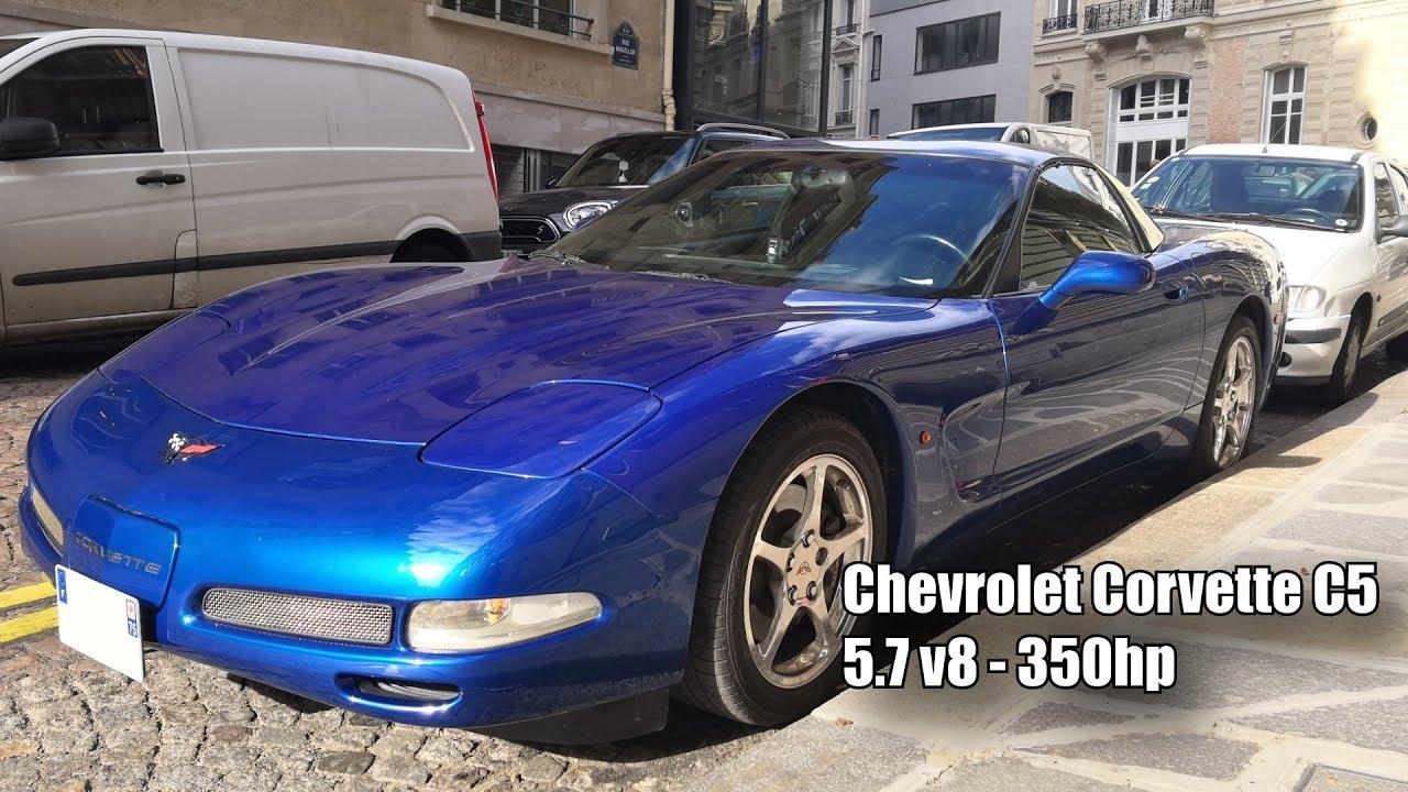 中级价钱顶级超跑,350匹雪佛兰 克尔维特 C5
