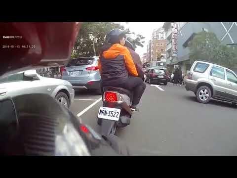 台湾省汽摩托车上街体验!这样骑车真的很容易出事故啊