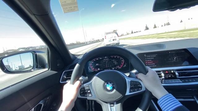 抢先试驾2020款宝马M340i,坐进驾驶室跑一圈后,给个不心动理由