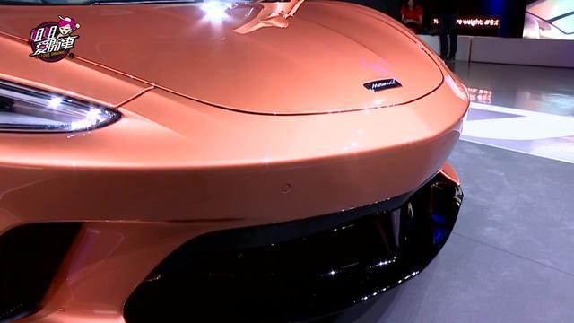 出席迈凯伦 McLaren GT 发布会