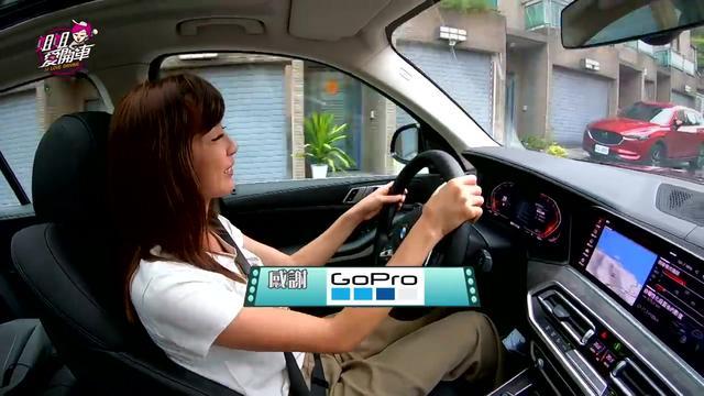 女司机试驾宝马BMW X5