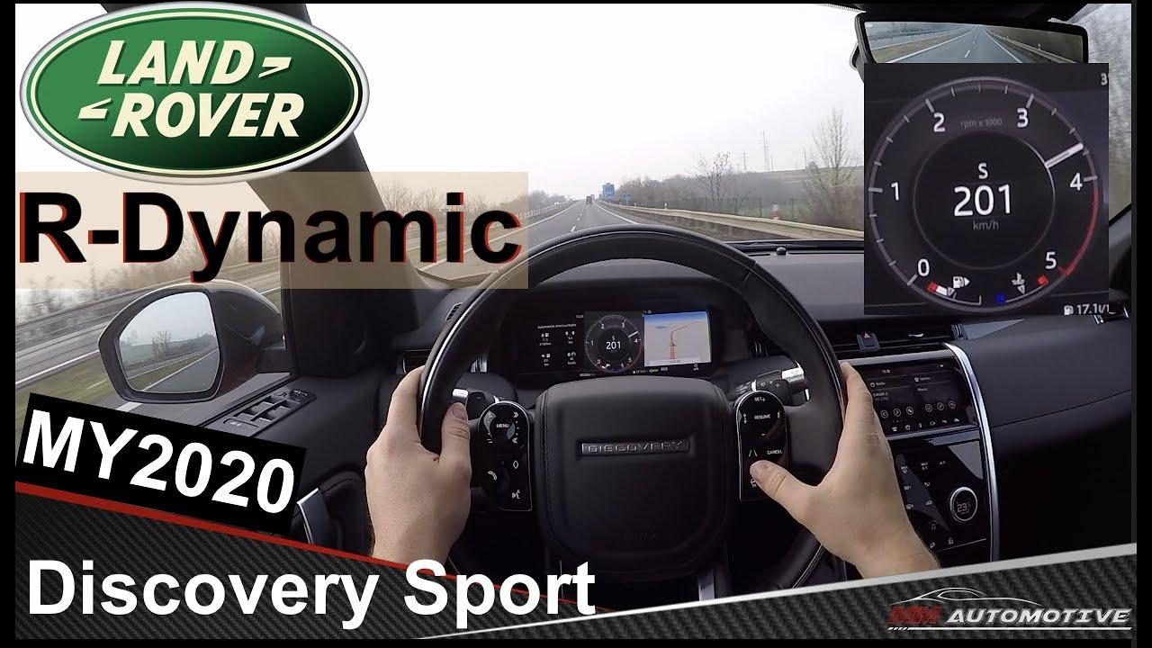 试驾路虎发现Sport Dynamic高配运动包围 个性运动帅气