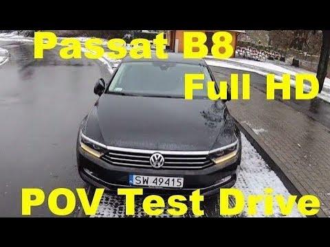 第一视角试驾帕萨特B8,高清展示,这才是不务正业的旅行车