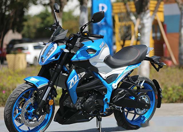 国产新感觉运动街车,功率23.5加速8.4秒,极速164配ABS系统