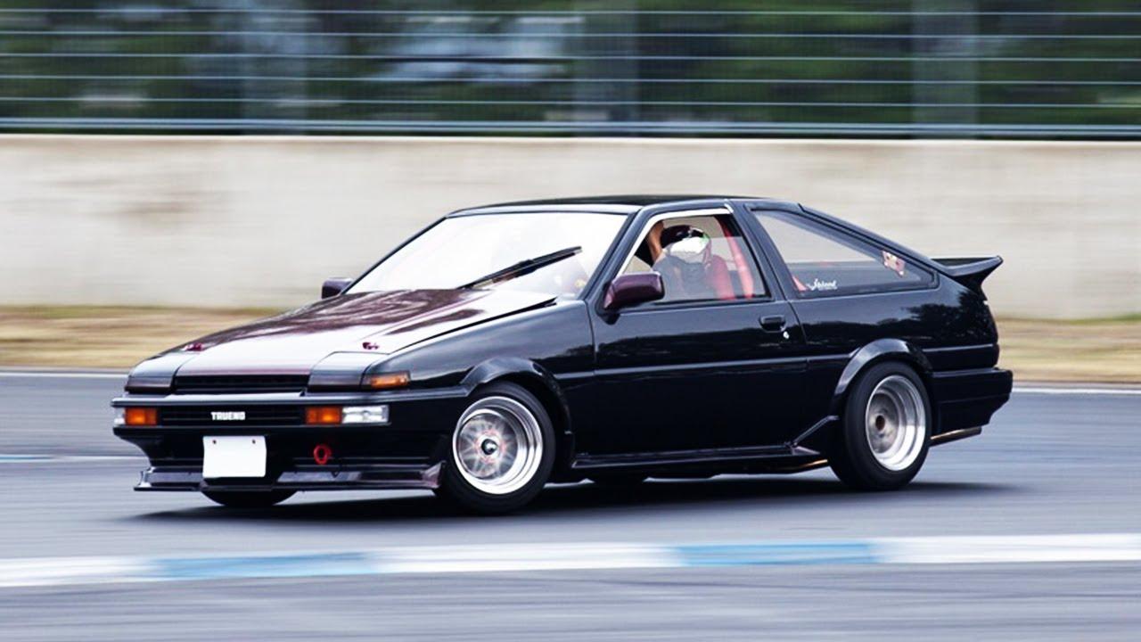 不敢相信啊 漂移神车AE86竟然是丰田卡罗拉