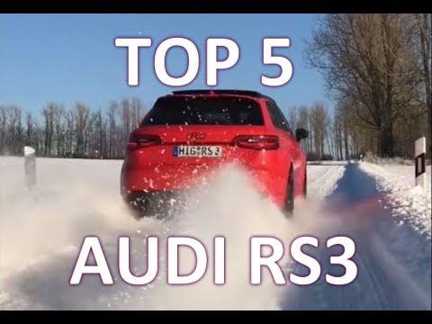 速度与声浪的猛兽,奥迪RS3听起来不输超跑