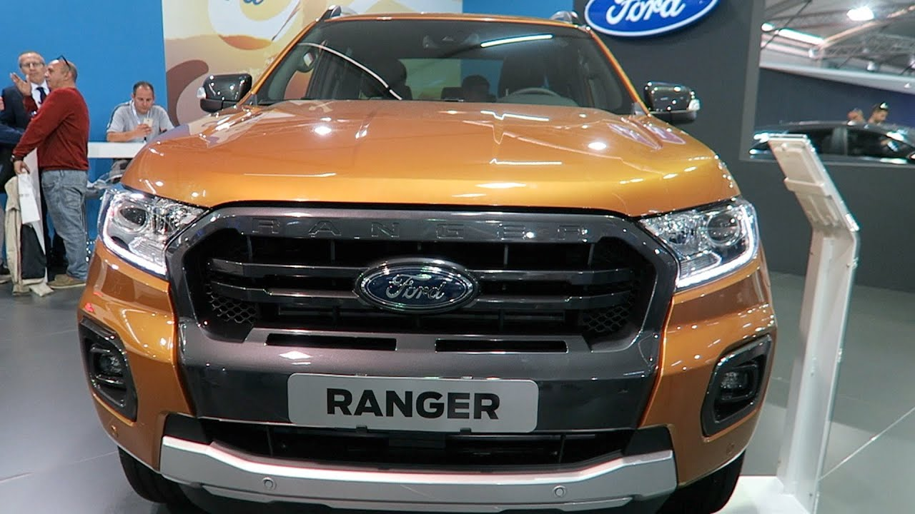 2020款全新福特Ranger, 霸气感不输猛禽, 能拉能装的凶悍皮卡