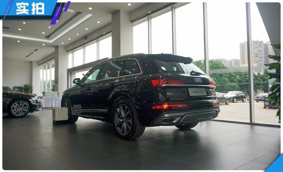 真正的豪华车是什么样?新款奥迪Q7到店实拍,销售居然说供不应求