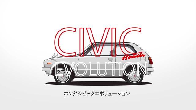 本田思域Civic进化史