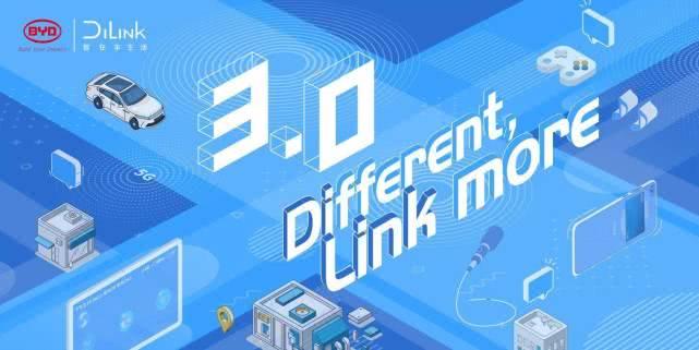 业内首创,行业领先,比亚迪DiLink3.0为您带来全新驾乘体验