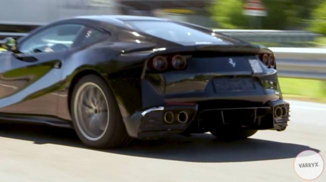 空动套件夸张, GTO/Speciale版本回归? 法拉利812新车型谍照曝光