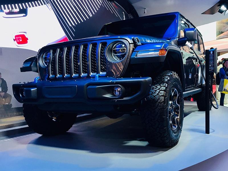 搭载双电机驱动系统,Jeep牧马人插电混动车型将于年底前上市