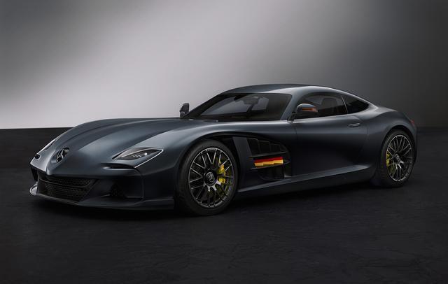 梅赛德斯SLR-AMG概念车设计效果图,灵感来自奔驰SLR McLaren