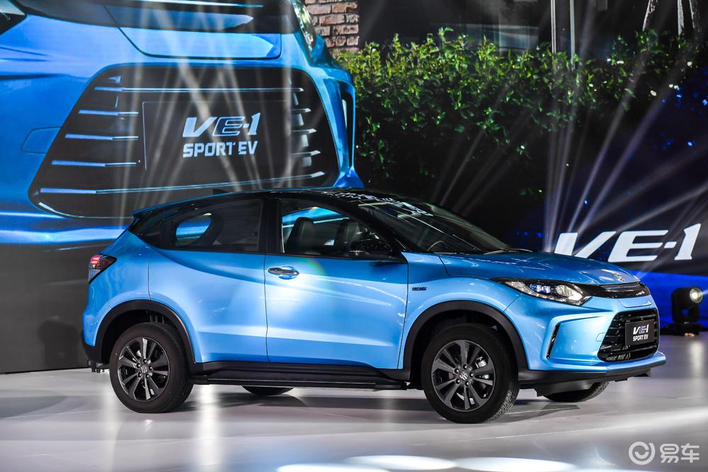 补贴后15.98万起,广本首款纯电动SUV VE-1上市
