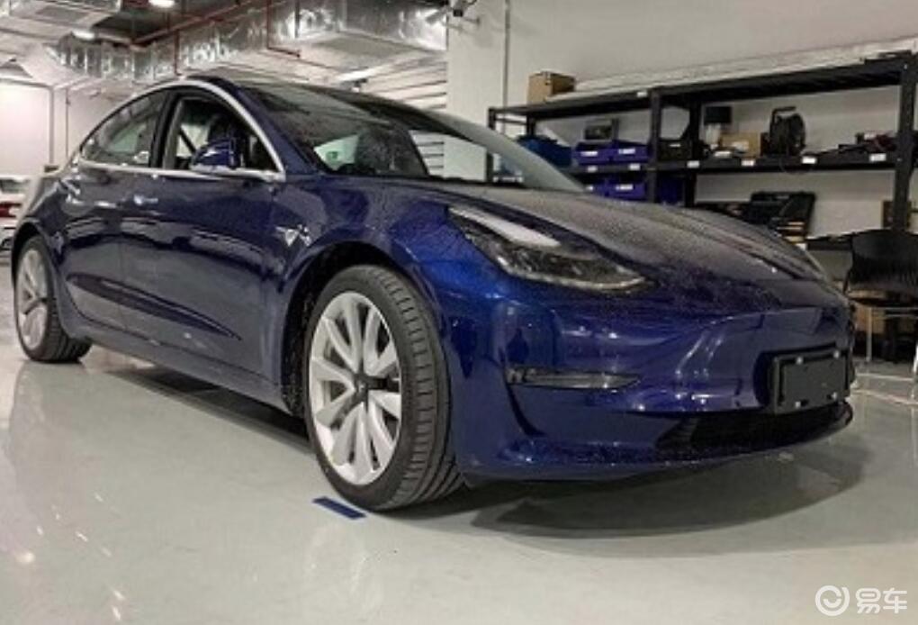 或为长续航后驱版,国产特斯拉Model3新车型亮相工信部