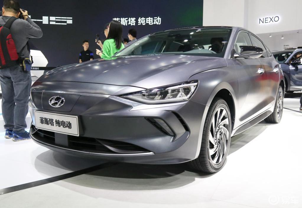 除了思域还能买啥?2020北京现代纯电菲斯塔EV了解一下
