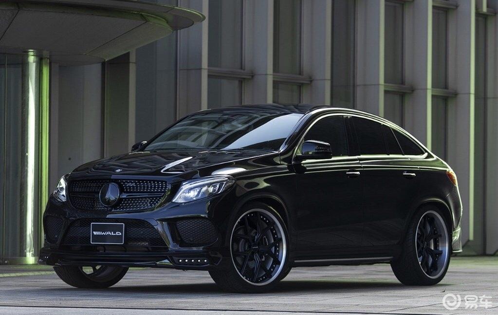 凶狠全黑涂装,奔驰GLE Coupe 特别改装版实拍