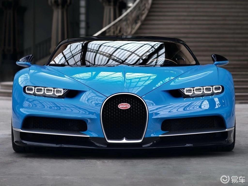 """从飞度到布加迪,盘点七款惊艳到人的""""蓝色车"""""""
