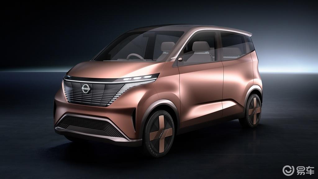 剑指Honda e,日产发布IMk电动概念车