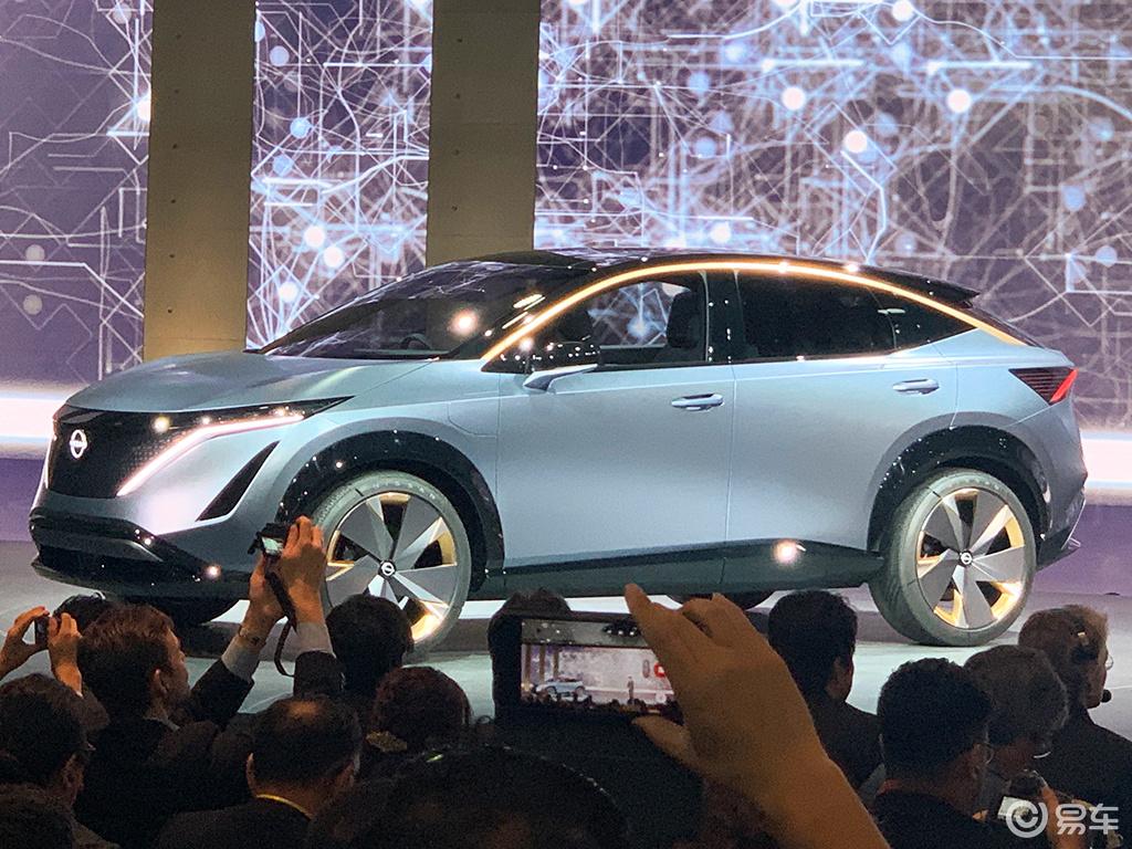 科技与运动结合 日产发布Ariya概念车