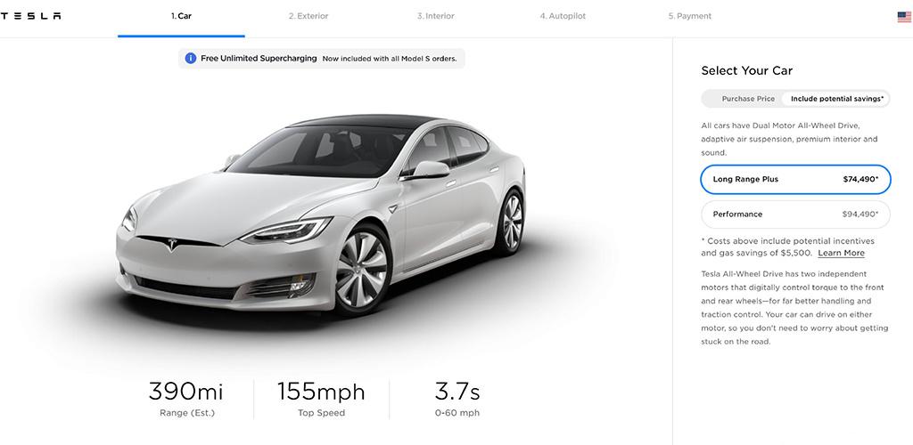 续航升级 特斯拉Model S/X美版车型续航信息提升