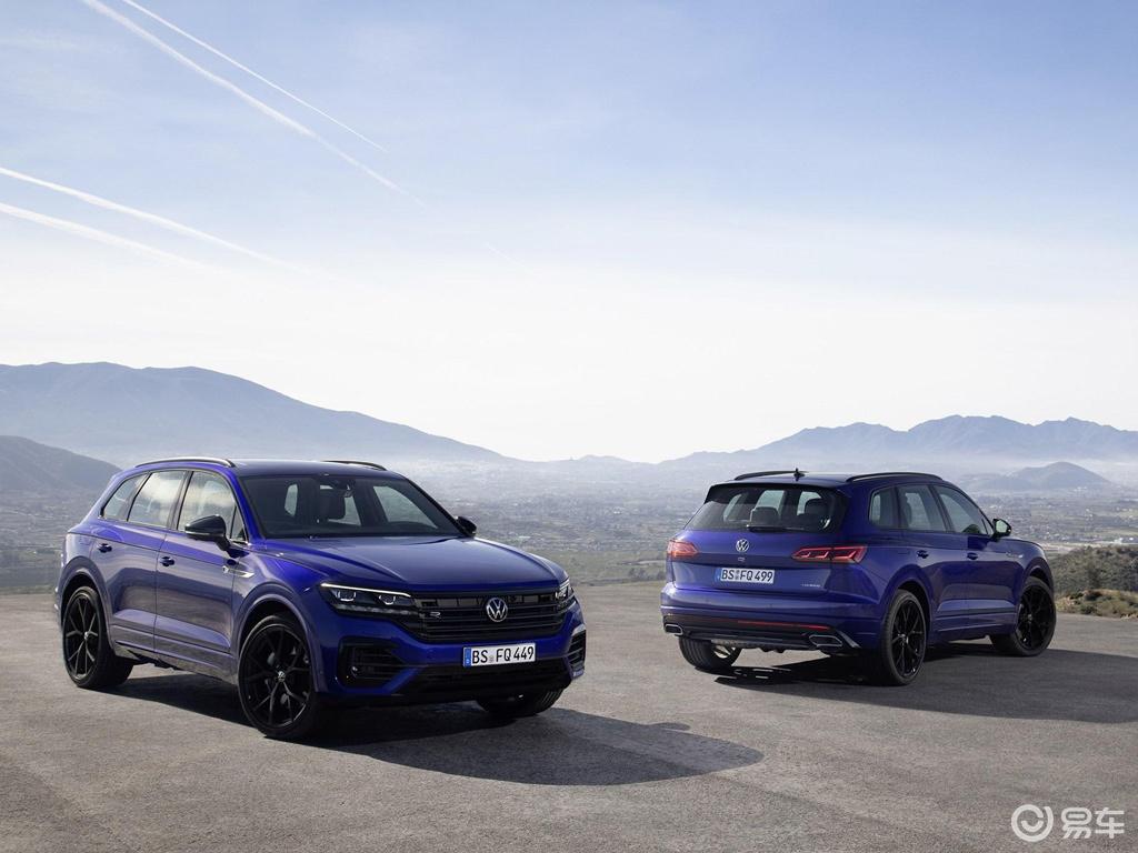 V6发动机+电动机,大众途锐R官图发布,日内瓦车展亮相