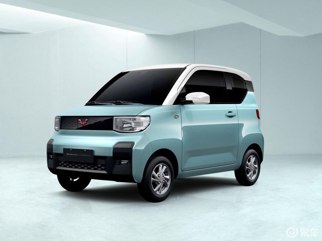 五菱电动车定名宏光MINI EV 双门四座布局/年内上市