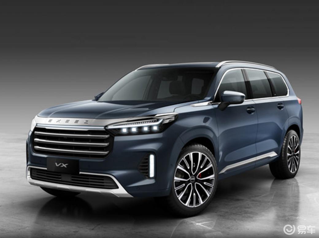 星途VX量产版于6月上市 营造豪华质感车身尺寸远超汉兰达