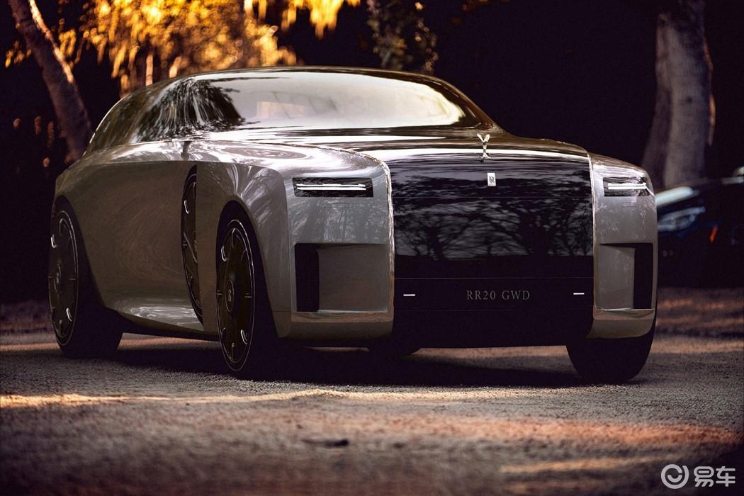 劳斯莱斯新车渲染图曝光?纯电驱动,关键采用猎装式设计!