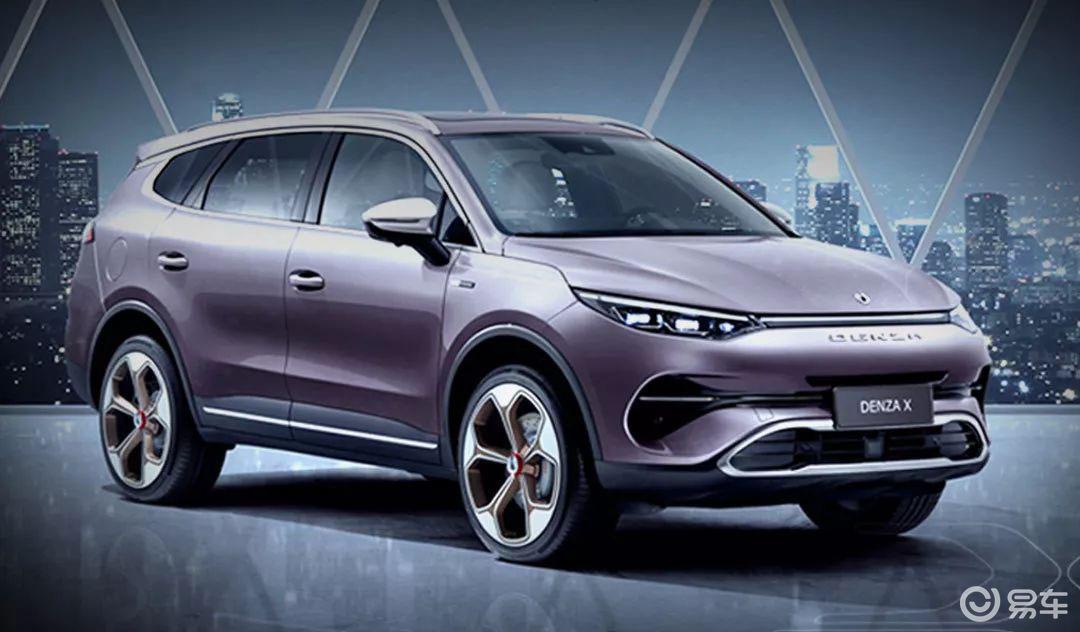 腾势X官图发布 将广州车展正式上市 2020年初正式交付