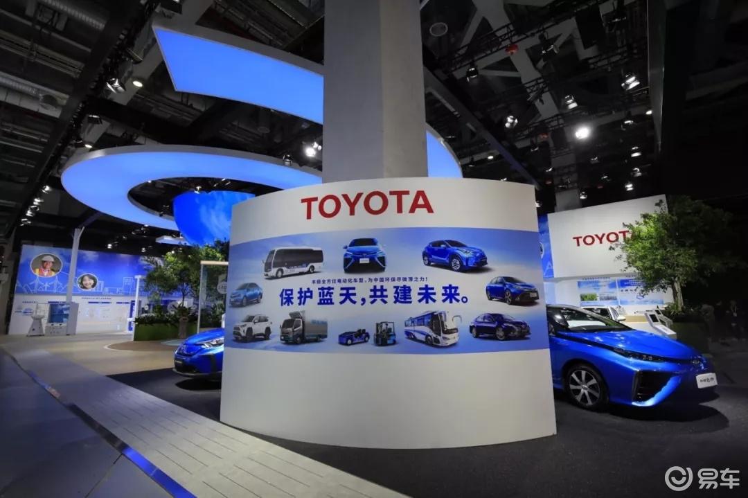 """如何在新能源领域""""超车""""?丰田在进博会上给出答案"""
