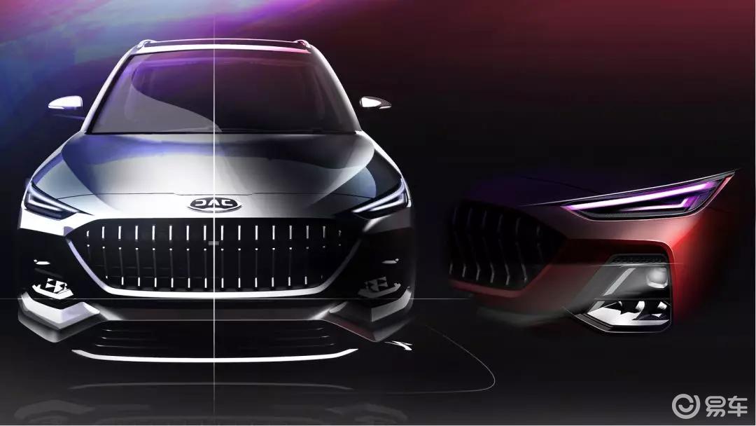 江淮开始在设计中发力,新车S432设计图惊艳众人