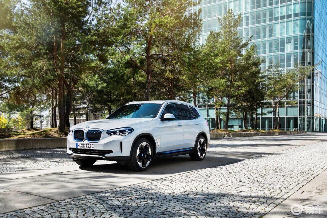 "BMW iX3上公告,豪华电动车市场迎来""实力派"""