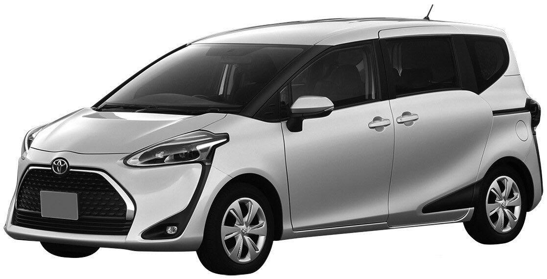 丰田MPV Sienta申报 7座布局/售价或12万起
