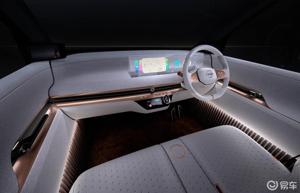 日产IMk纯电动概念车发布,将在东京车展亮相