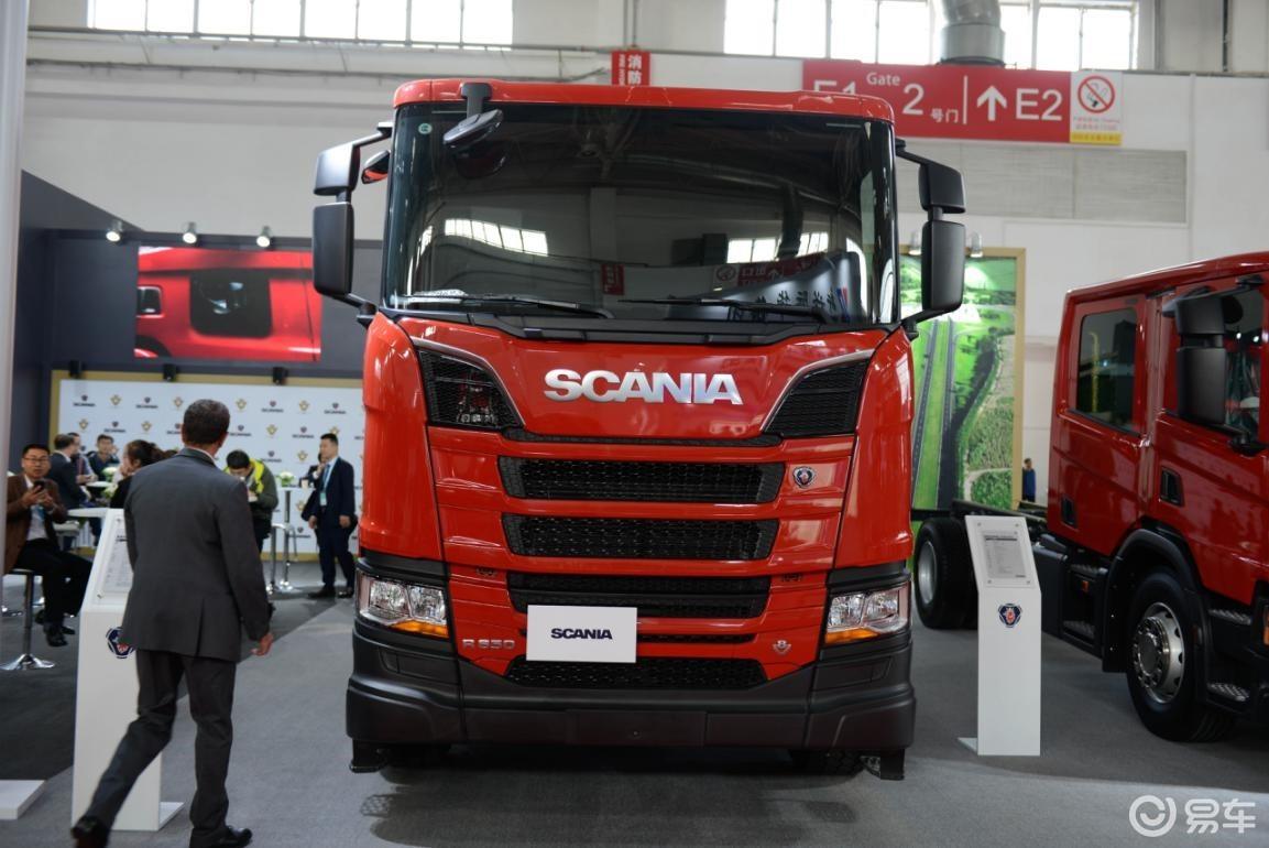650马力V8发动机 斯堪尼亚8×4大水牛再刷新国内记录
