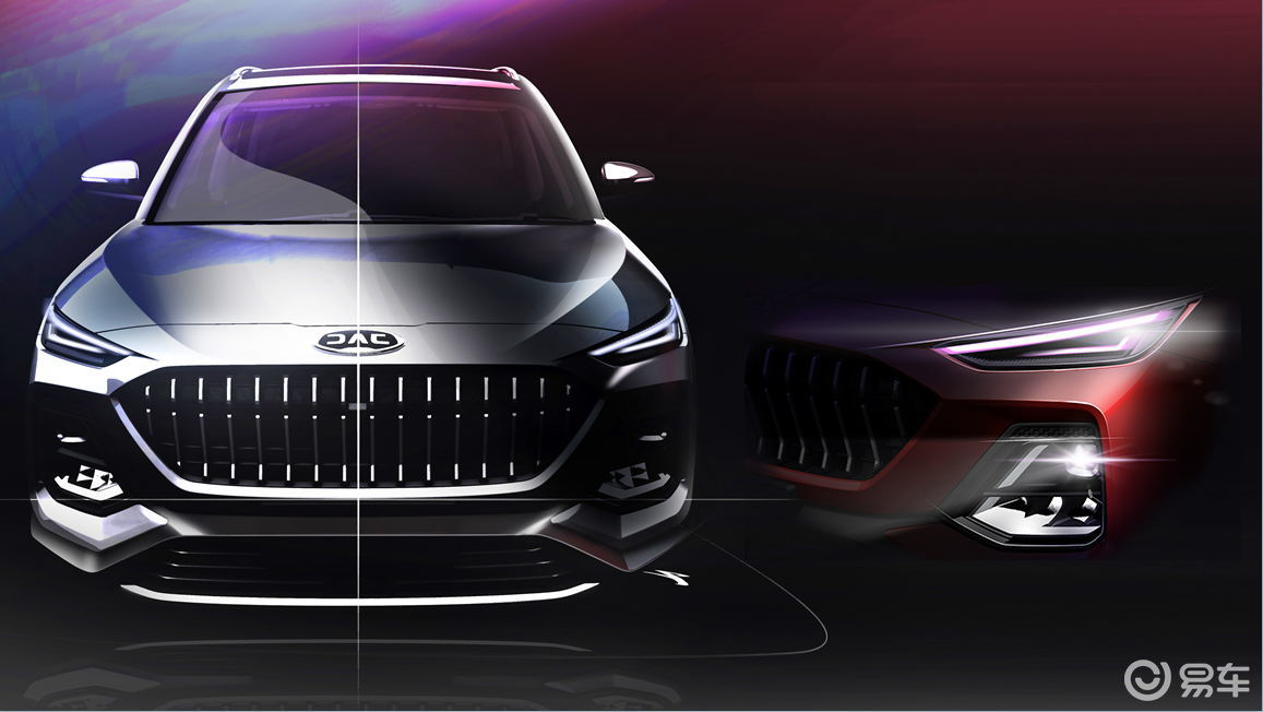 曝光设计图!江淮全新SUV将于下半年上市 主打6座