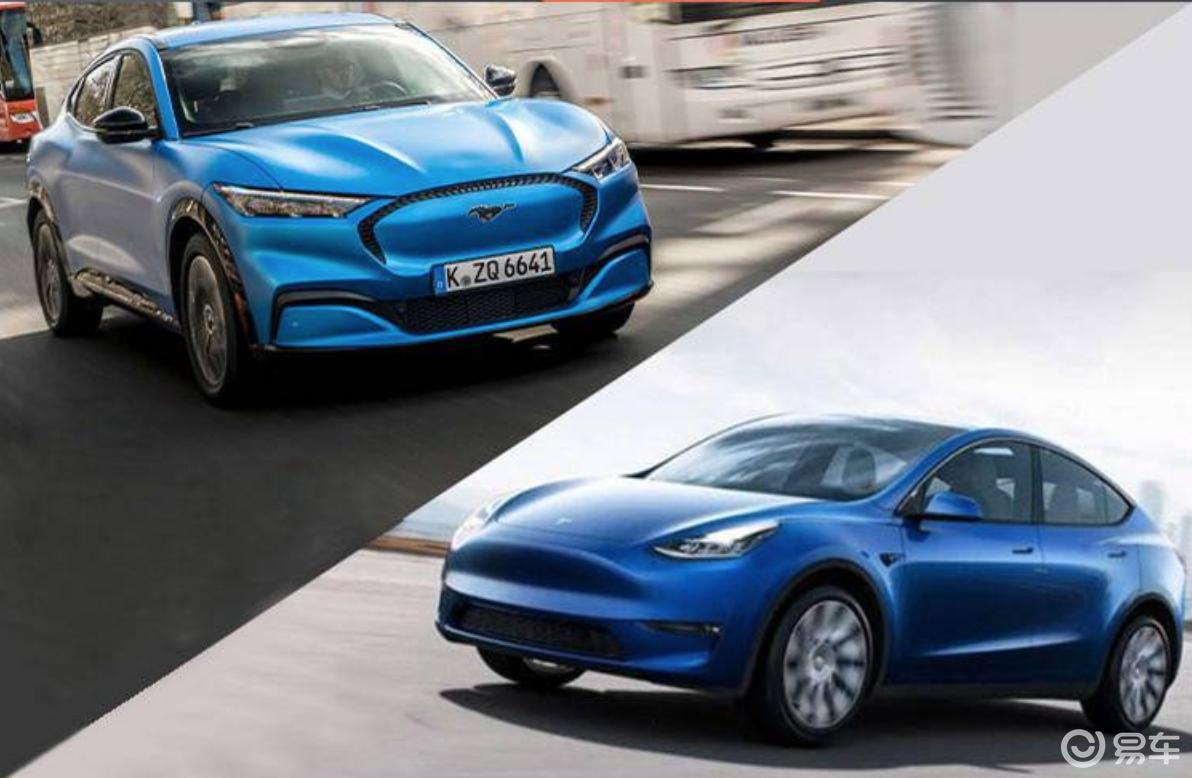 对比Mach-E与Model Y,传统车企能否阻击特斯拉
