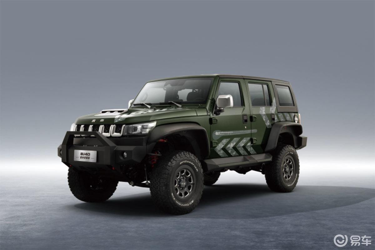 售价26.99万元,越野能力升级,BJ40雨林穿越版上市