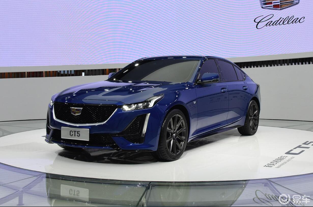 高颜值运动轿车,凯迪拉克品牌夜公布CT5起售价30万以内