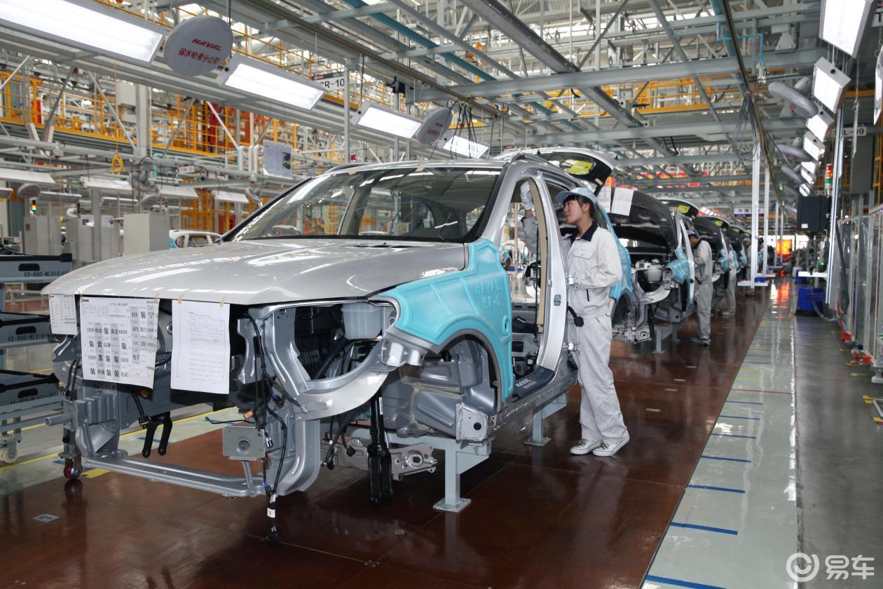 长城汽车徐水智慧工厂即将迎来机器人届的 奥林匹克