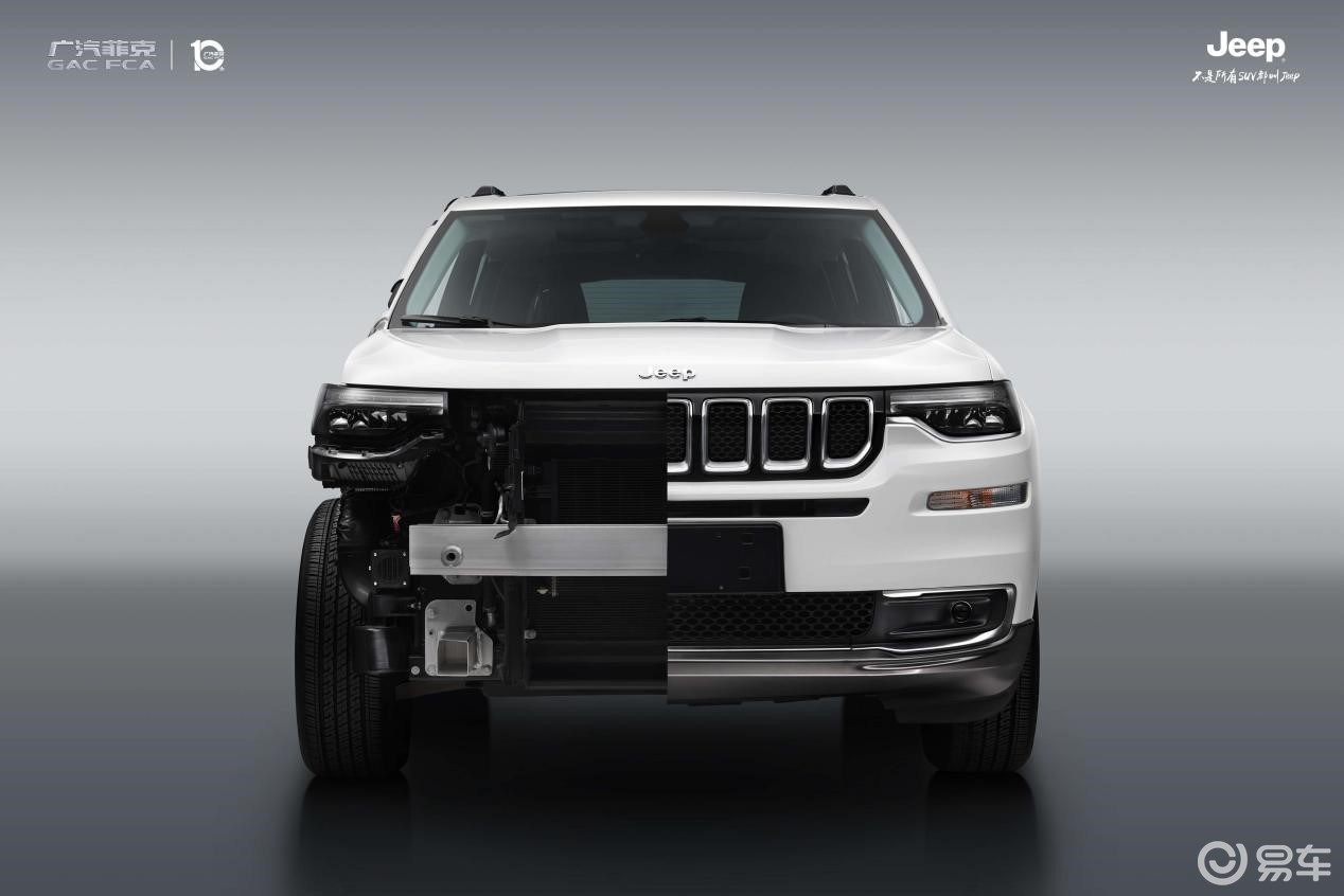 中保研碰撞测试获三项优秀,Jeep大指挥官有何硬核实力?