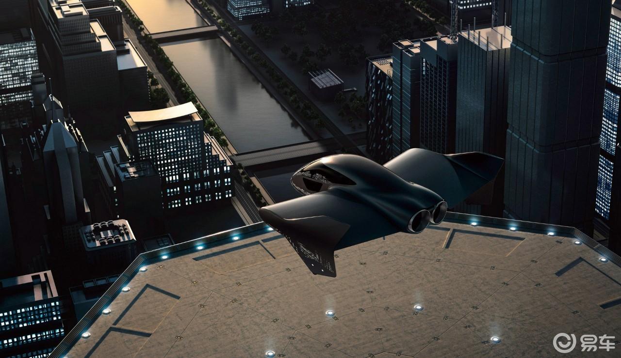 保时捷联合波音研发垂直起降汽车,样子和B2隐形轰炸机相似