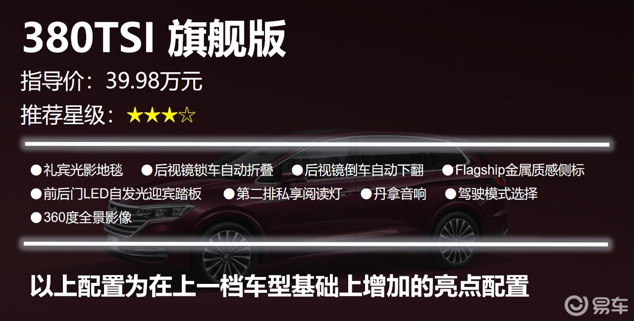 【帮你选车】330TSI豪华版值得推荐 大众威然购车手册