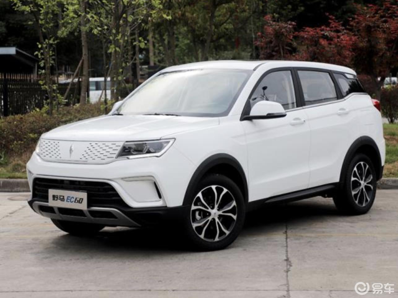 2020款野马EC60正式上市,新车售价10.99万元
